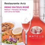 Menú Mateus Rosé